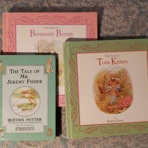 3 Beatrix Potter books